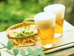 枝豆とビールは日本の夏の風物詩