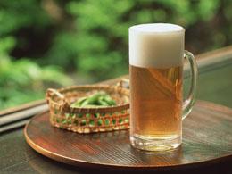 夏と言えばビールと枝豆